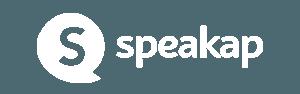 Speakap logo white horizontal - Interne Kommunikation